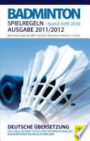 Badminton - Spielregeln 2011/2012