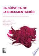 Ling Stica De La Documentaci N