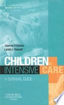Children In Intensive Care