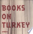 Books on Turkey