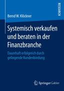 Systemisch verkaufen und beraten in der Finanzbranche