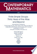 Finite Simple Groups  Thirty Years of the Atlas and Beyond