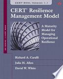 Cert Resilience Management Model Cert Rmm  book