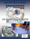 Architectural Engineering PE Exam Study Guide Version 4  0