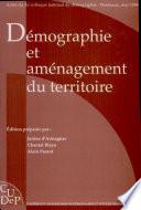 Démographie et aménagement du territoire