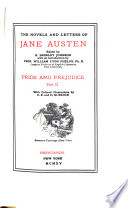 The Novels and Letters of Jane Austen  Pride and prejudice