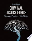 Criminal Justice Ethics