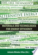 Materials and Technologies for Energy Efficiency