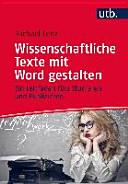 Wissenschaftliche Texte mit Word gestalten