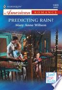 Predicting Rain?