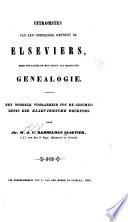 Uitkomsten van een onderzoek omtrent de Elseviers