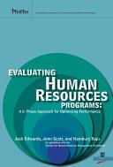 Evaluating Human Resources Programs