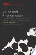 Voice and Phenomenon