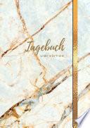 Tagebuch A5 Liniert 100 Seiten 90g M2 Soft Cover Motiv Marmor Wei Fsc Papier