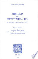 Mimesis and Metatextuality in the French Neo classical Text