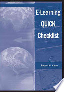 E Learning Quick Checklist book