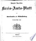 Königlich-bayerisches Kreis-Amtsblatt von Unterfranken und Aschaffenburg