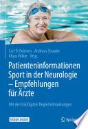 Patienteninformationen Sport in der Neurologie – Empfehlungen für Ärzte