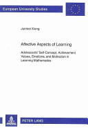 Affective Aspects of Learning