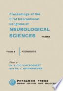 Sixth International Congress of Neurology