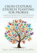 Cross Cultural Church Planting For Probies