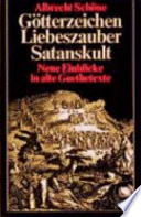 G  tterzeichen  Liebeszauber  Satanskult