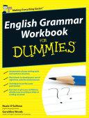 English Grammar Workbook For Dummies
