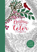 Christmas to Color  10 Postcards  15 Gift Tags  10 Ornaments