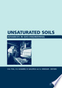 Unsaturated Soils Advances In Geo Engineering