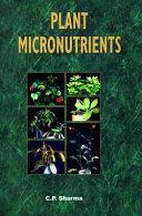Plant Micronutrients