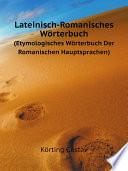 Lateinisch-Romanisches W?rterbuch