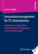 Innovationsmanagement f  r TV Unternehmen