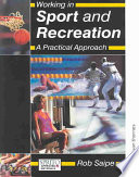 Working in Sport and Recreation