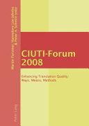 CIUTI-Forum 2008