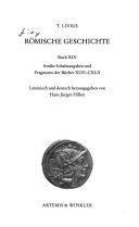 Römische Geschichte: Buch XLV. Antike Inhaltsangaben und Fragmente der Bücher XLVI-CXLII