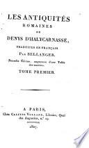 Les antiquit  s romaines de Denys d Halycarnasse
