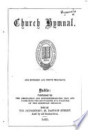 Church Hymnal  One hundred and tenth thousand