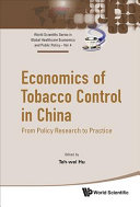 Economics of Tobacco Control in China