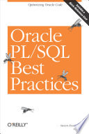 Oracle PL SQL Best Practices