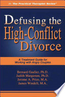 Defusing the High Conflict Divorce
