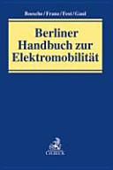 Berliner Handbuch zur Elektromobilität