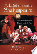 A Lifetime with Shakespeare
