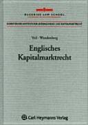 Englisches Kapitalmarktrecht