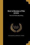 Ht Become A Film Artiste
