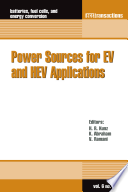 Power Sources for EV and HEV Applications