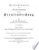 Beobachtungen und theoretische Untersuchungen über die Stralenbrechung