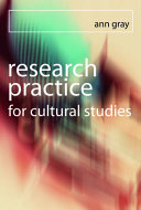 Research Practice for Cultural Studies