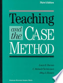 Teaching and the Case Method