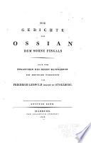 Die Gedichte von Ossian, dem Sohne Fingals