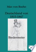 Biedermeier   Deutschland Von 1815 1847